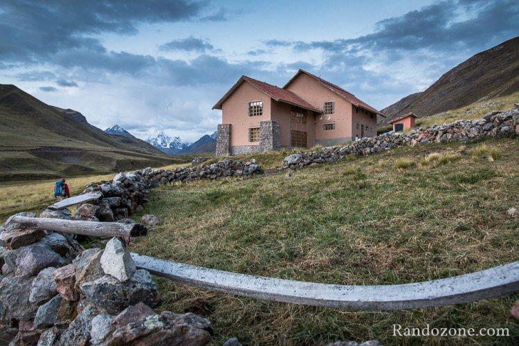 Nous voici au refuge de Chillca