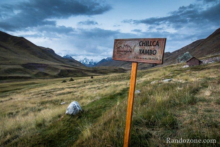 Refuge de Chillca Tambo à 4350 mètres d'altitude