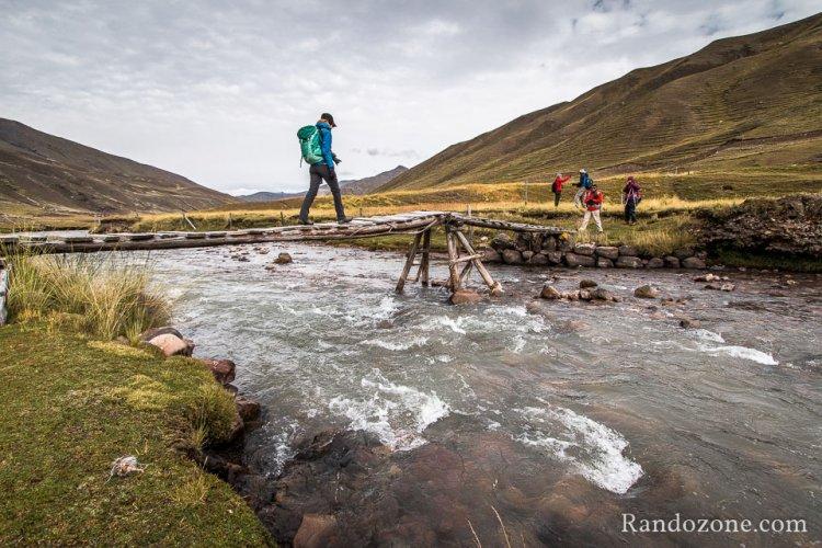 Trek de l'Apu Ausangate - Etape 2 : Chillca - Machuraccay (4850m)