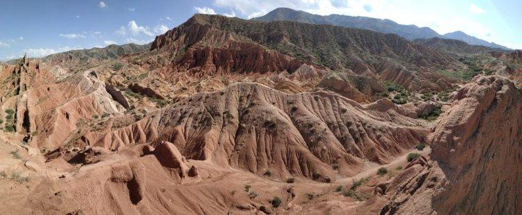 Sentiers nomades au Kirghizistan