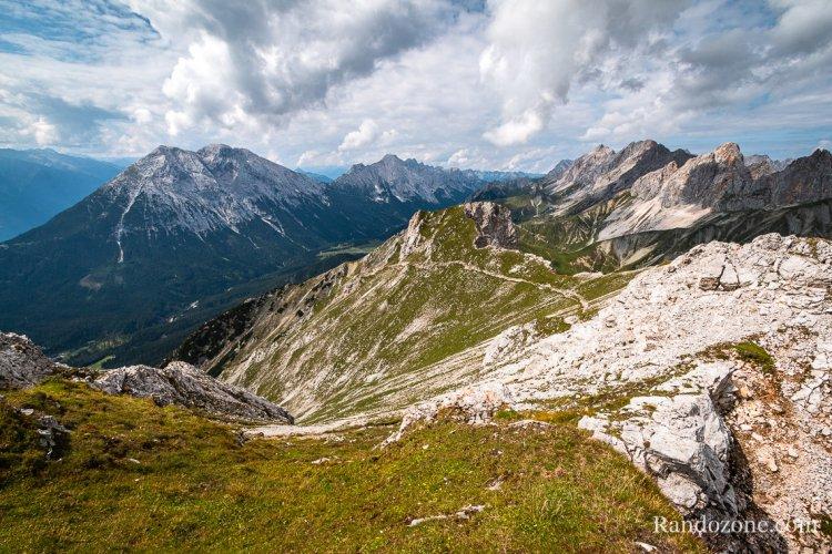 Randonnée en traversée au Gehrenspitze