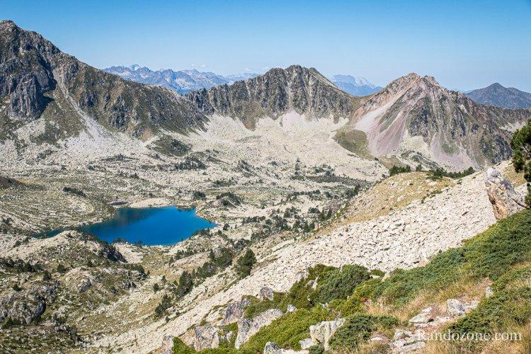 Lacs de Madaméte par le col de Tracens