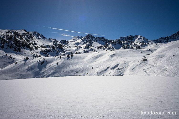 Ski de randonnée : Lac dets Coubous en ski de rando
