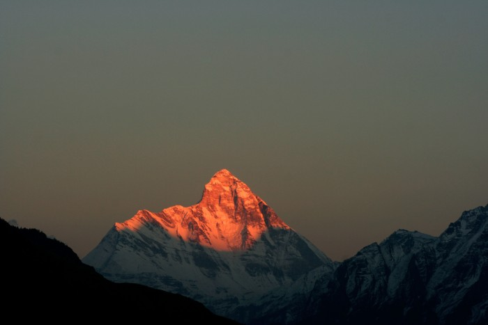 Nanda Devi Sunset