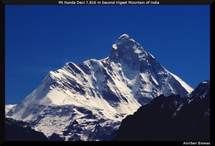 Mt Nanda Devi