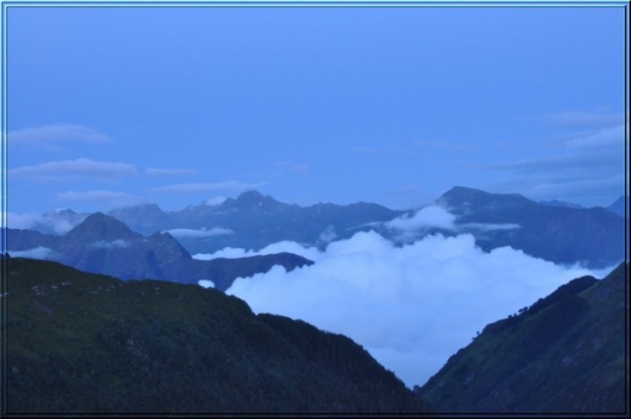 Randonnée pédestre : Tramassel - Tour du lac Bleu