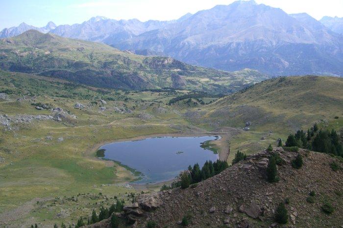 Lac de Piedrafita aragon