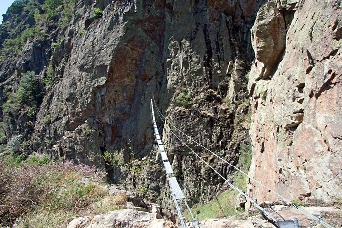 Via Ferrata : Via ferrata entre Gèdre et Gavarnie : le chaos de Coumély