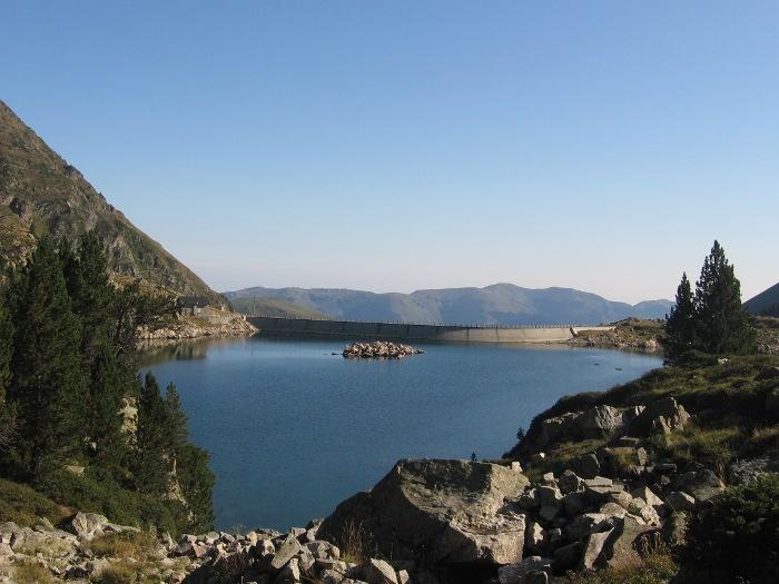 Le lac de Caderolles
