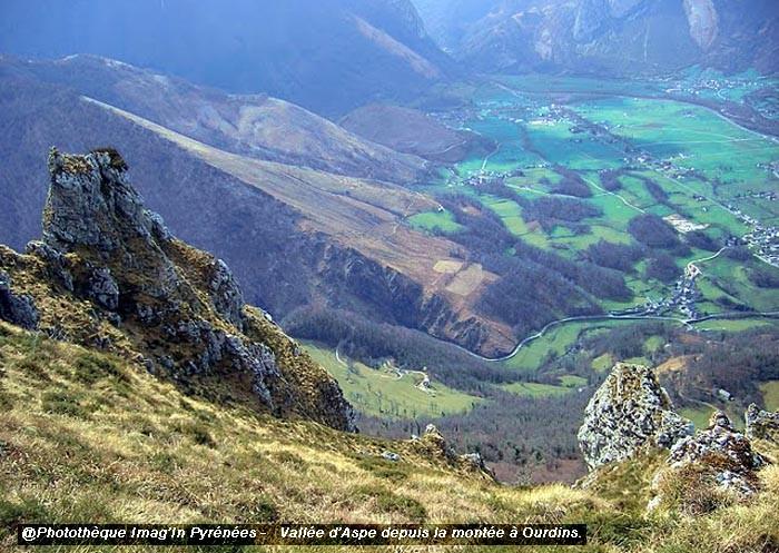 Vallée d'Aspe, plateau d'Ourdins