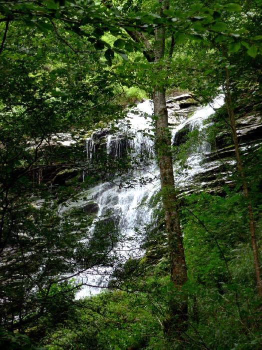 Cascade sur le chemin vers la Passerelle d'Holzarté