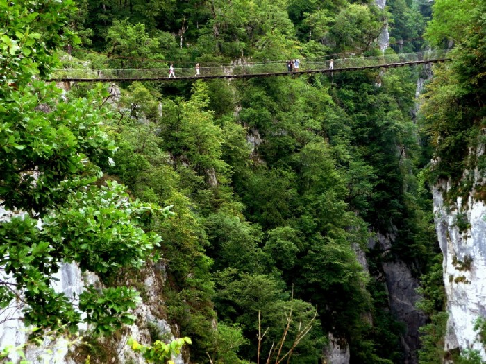 Les chemins de la Haute-Soule : forêts, crêtes et canyons
