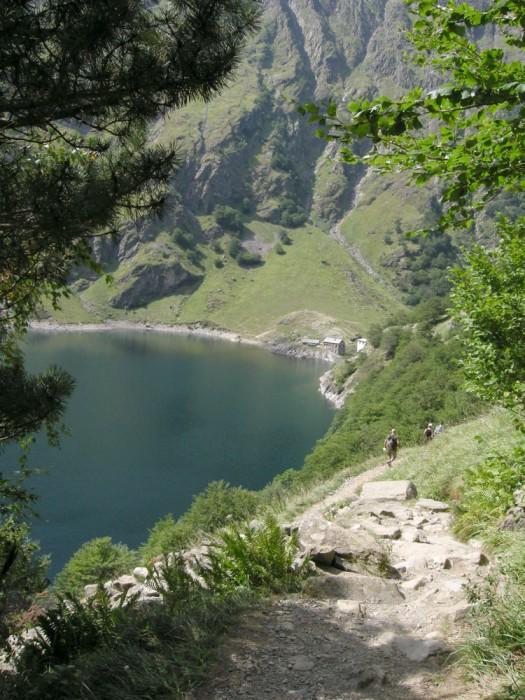Refuge du lac d'Oo