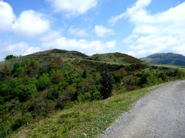 Route des Palombières d'Etxalar