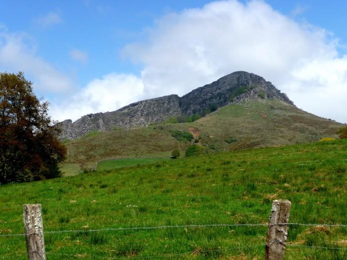 Randonnée pédestre : Randonnée à Atxuria depuis le col de Lizarrieta