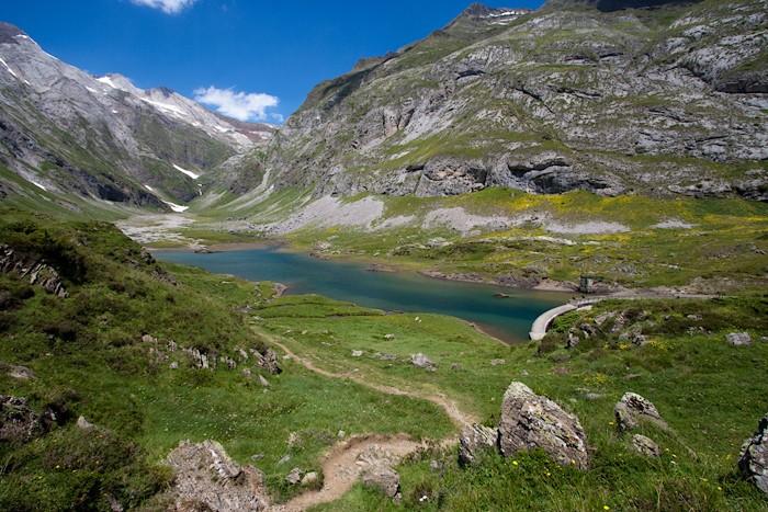 Lac et barrage d'Ossoue