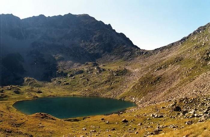 Lac de la Hourquette et col de Bastanet