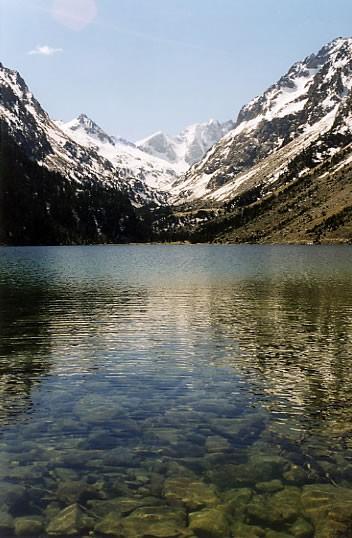 Ma première visite au lac de Gaube