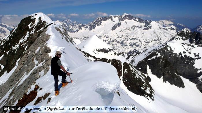 Ski de randonnée : Pic d'Enfer (Infierno)