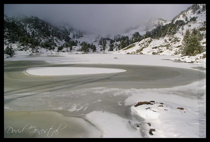 Lac Achard avant l'hiver