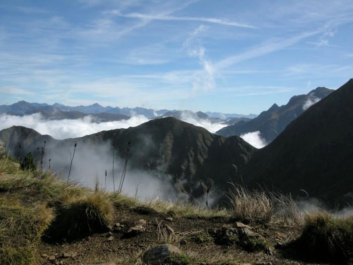 Col de Pinata, vers l'est