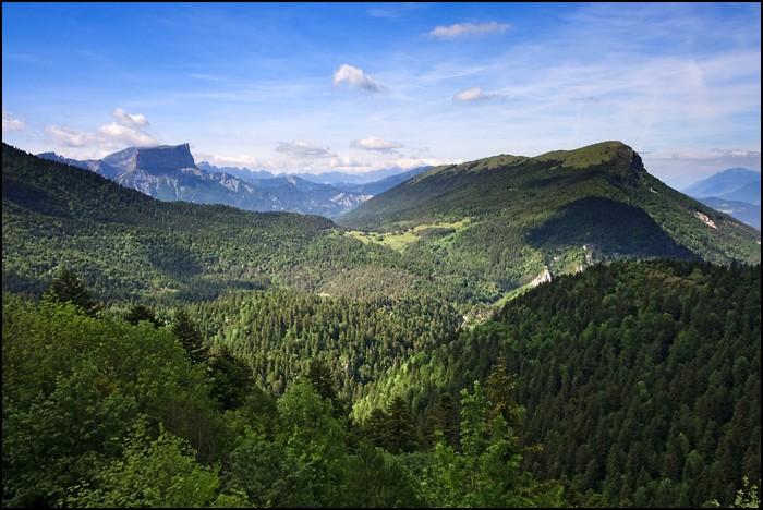 Vercors et Mont Aiguille