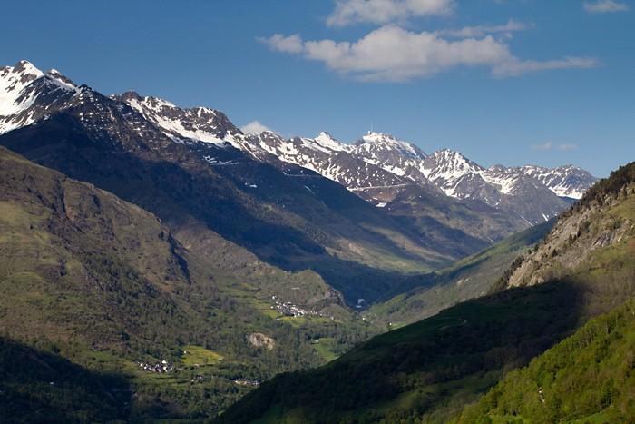 Pic du Midi de Bigorre depuis Luz-Saint-Sauveur