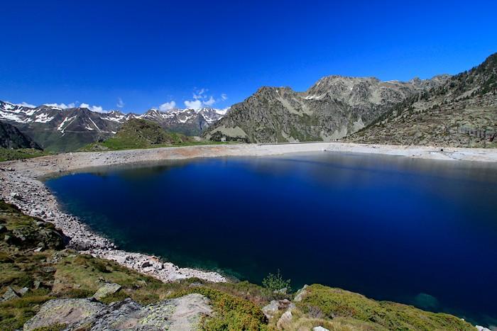 Lac et barrage Dets Coubous