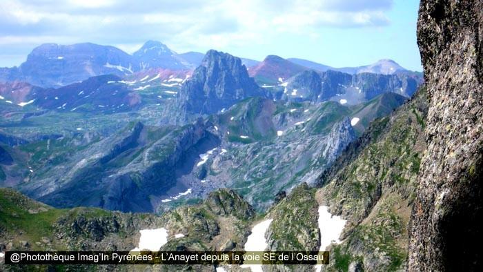 Anayet depuis la voie SE de l'Ossau