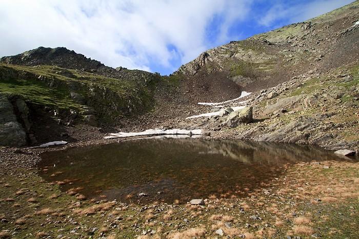 Petit lac avant la dernière montée