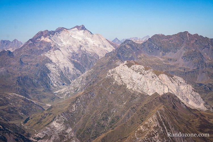 Glacier d'Ossoue depuis le Pimené