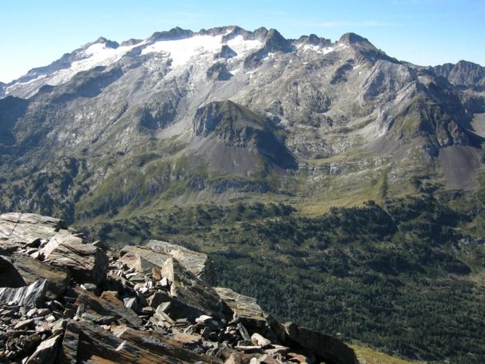 Sauvegarde (2738m) : le massif de la Maladetta