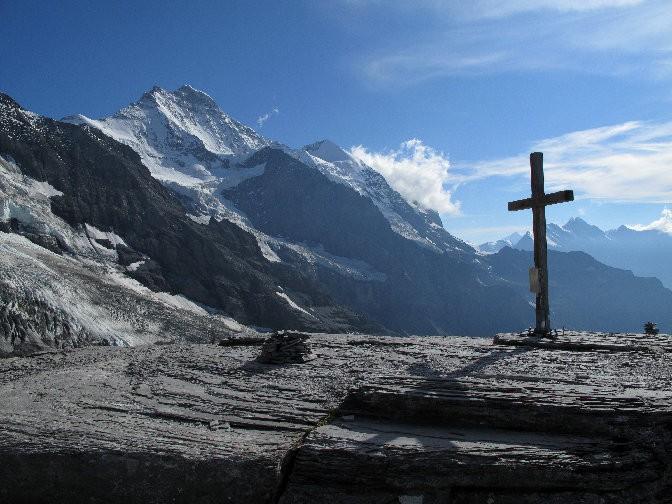 La Jungfrau vue depuis le Rotstock