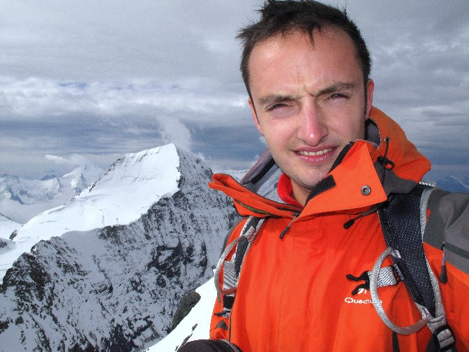 Au sommet de l'Eiger