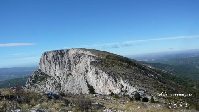 Randonnée pédestre : Massif de la Sainte Victoire Préalpes de Provence