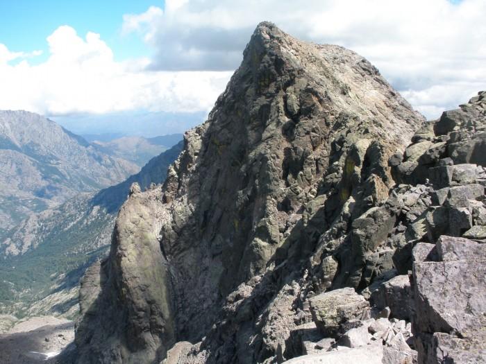 Monte Cinto vu de l'antécime W