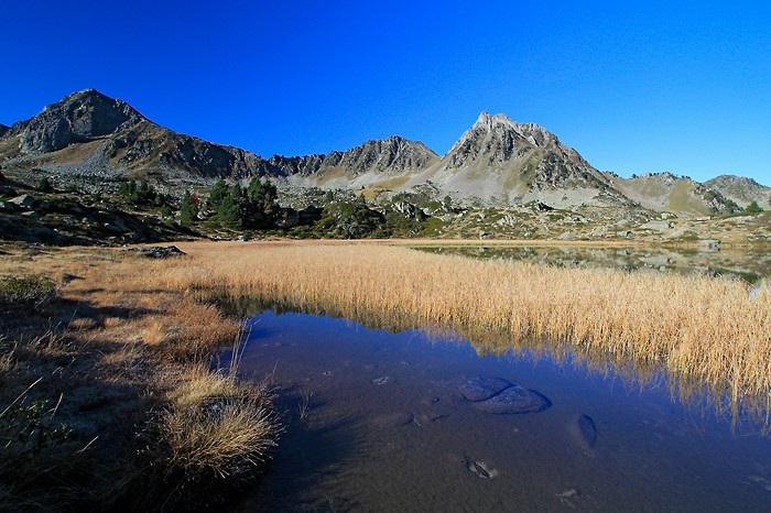 Lac de la Jonquère aussi nommé lac Dera Yunco