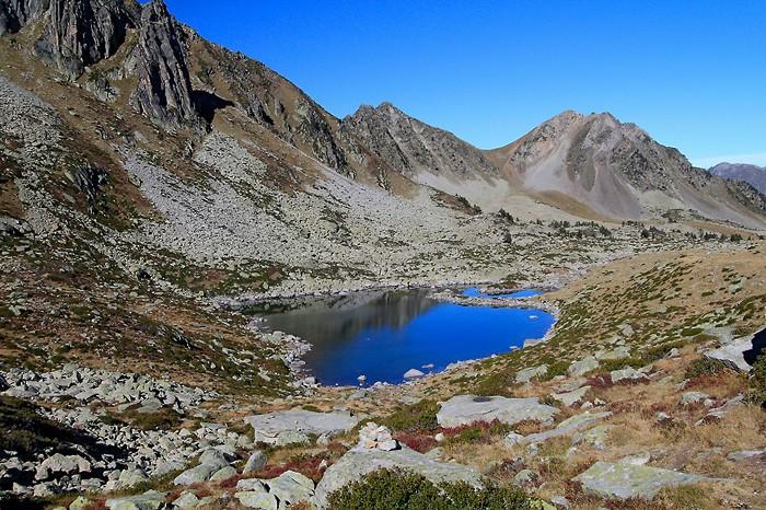 Randonnée au lac Estagnol dans les Pyrénées