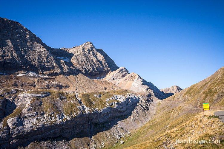 Col de Boucharo depuis le col de Tentes