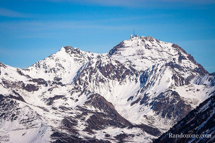 Pic du Midi de Bigorre depuis le Bergons