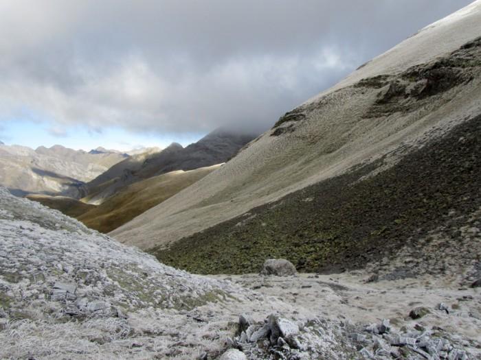 Mont Perdu, la descente