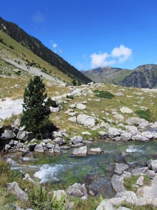 Ruisseau à côté du Lac de Gaube