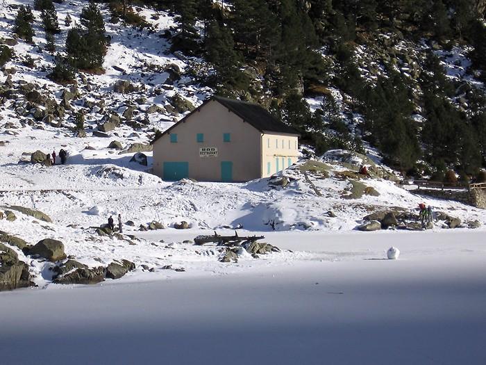 Hôtellerie du lac de Gaube