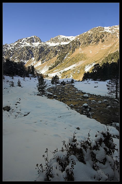 Randonnée dans la vallée du Marcadau