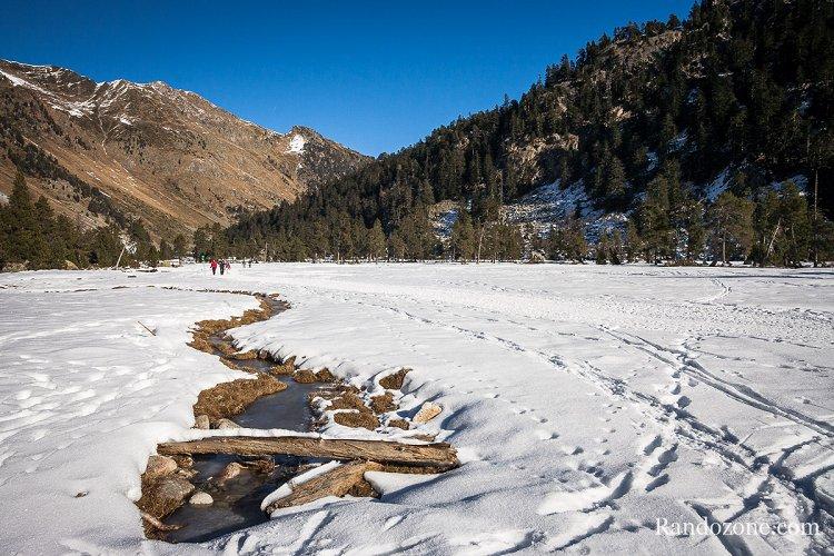 Randonnée pédestre : Vallée de Cauterets en hiver