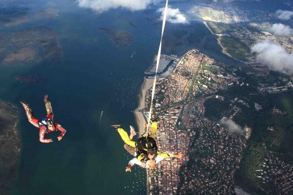 Saut en parachute tandem à Andernos