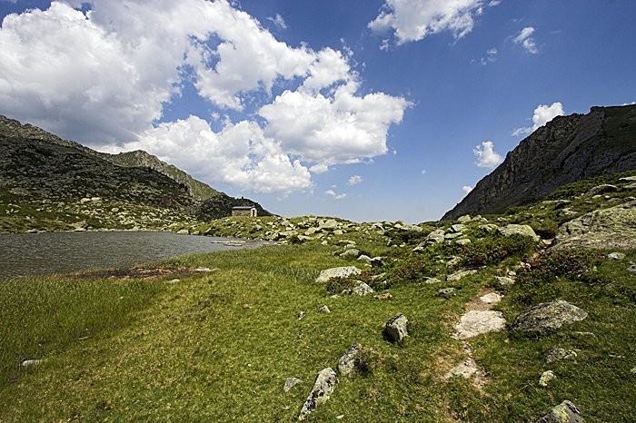 Randonnée aux lacs d'Ardiden : lac Lagües