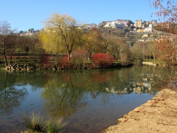 Berges de l'Aveyron, lors de la balade à Layoule, Rodez
