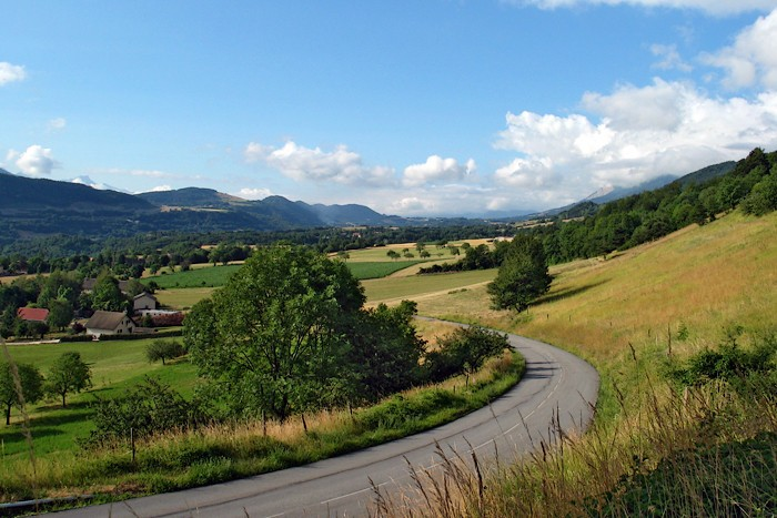 Campagne près de Grenoble