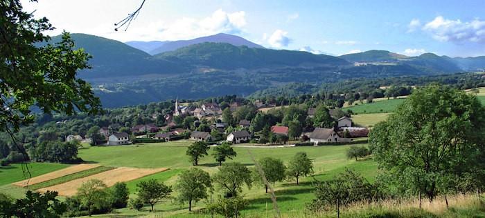 Campagne autour de Grenoble
